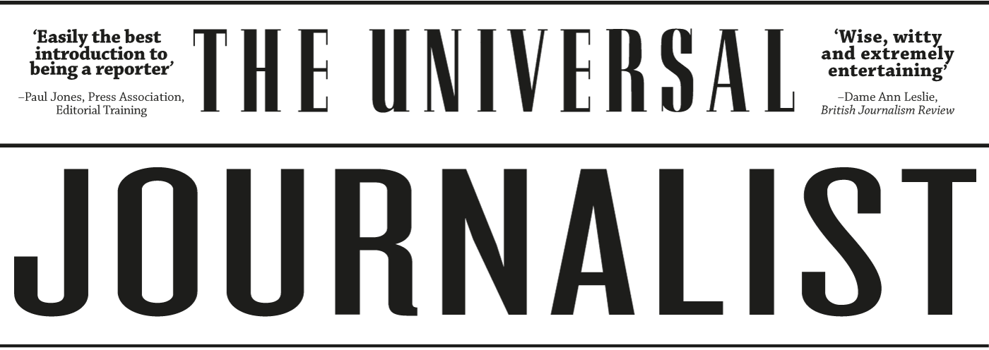 The Universal Journalist Cover logo